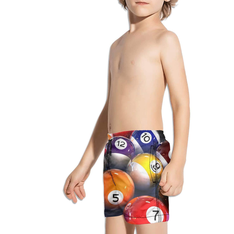 Etstk Smooth Billiards Ball Kids Comfortable Beach Shorts for Schoolboys