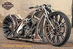 J-4845 Harley Davidson Motorcycle Poster#12 Size 24x35inch. Rare New - Image Print Phot