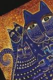 Smythe Sewn Fantastic FelinesMediterranean Cats Lined Mini Wrap, Paperblanks Book Company Staff, 1551564785