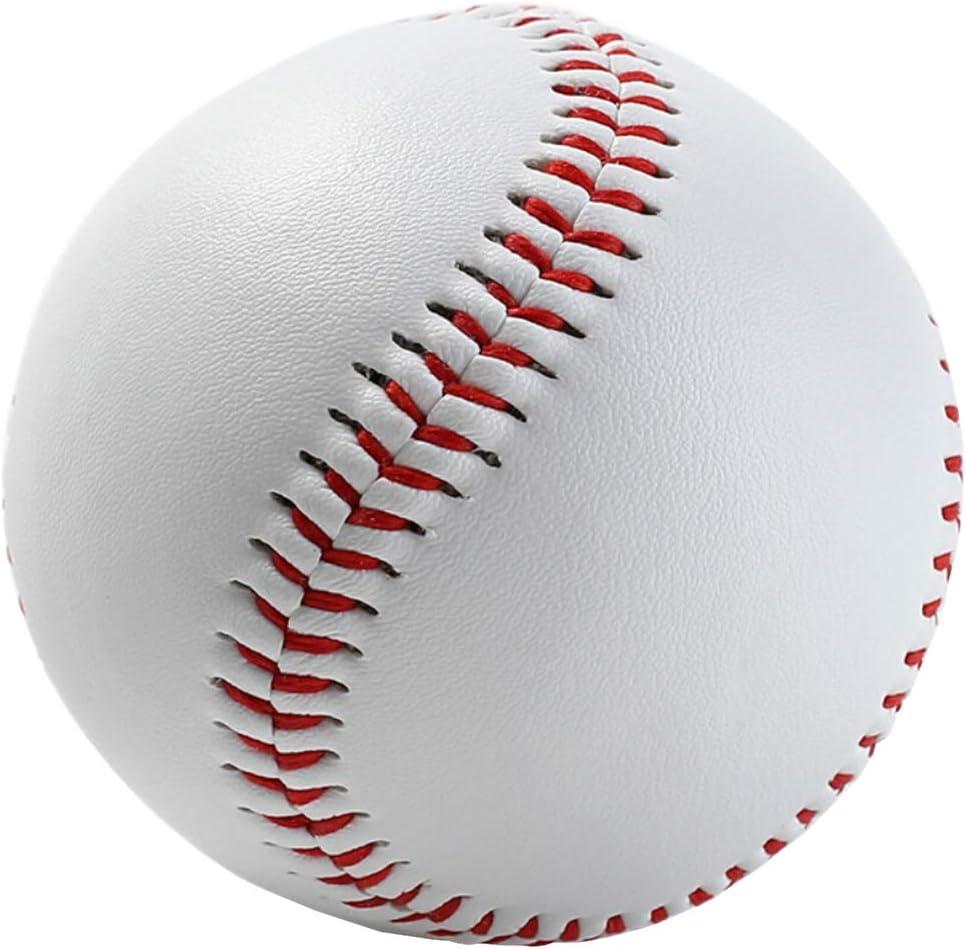 Nicetruc Baseballs Goma Blanda para Niños Adolescente Jugadores ...
