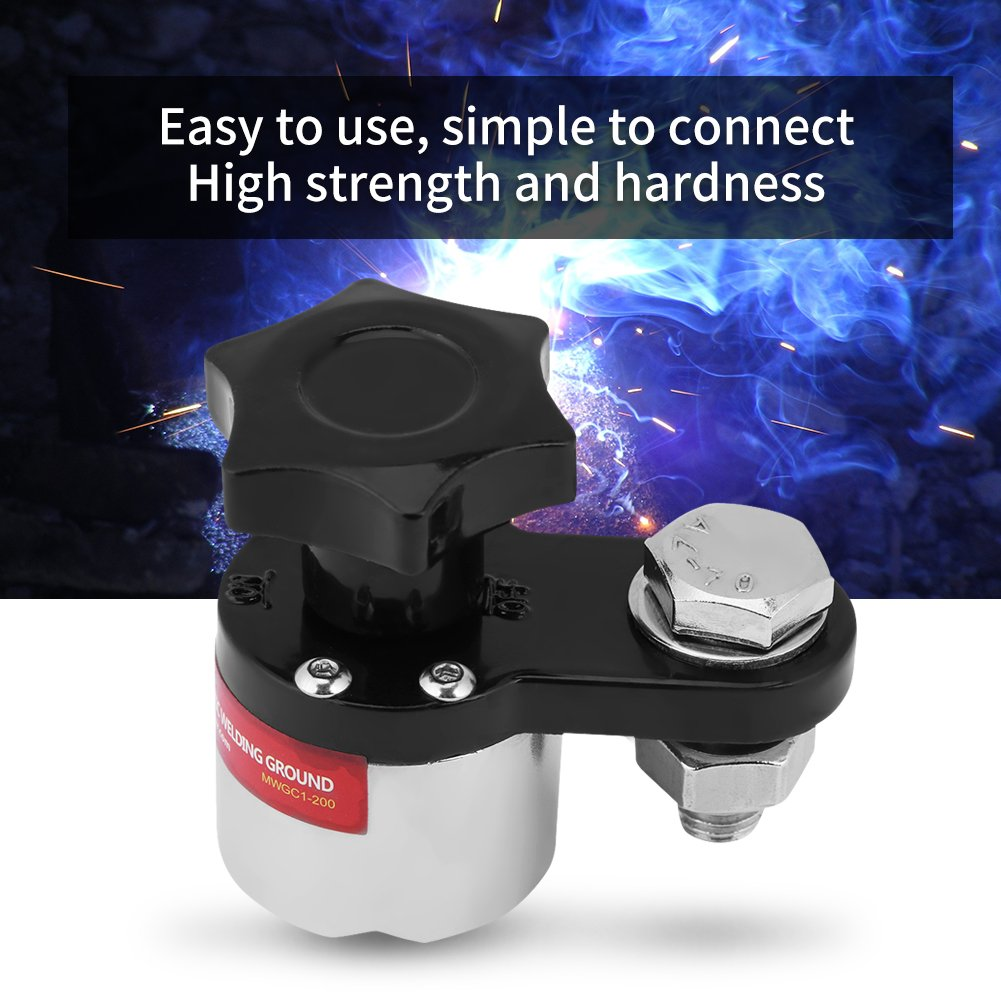 Magnetic Welding Ground Clamp,Switchable Welding Magnetic Connector Industrial Welding Machine 200A