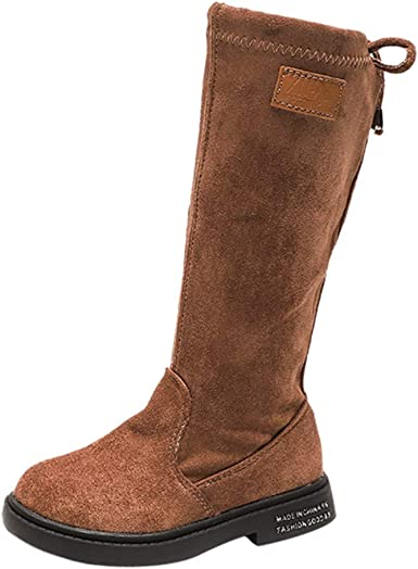 Knee High Riding Boots - Fashion Winter