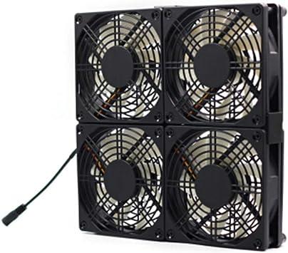 Gran Volumen De Aire Velocidad Ajustable Ventilador Silencioso ...