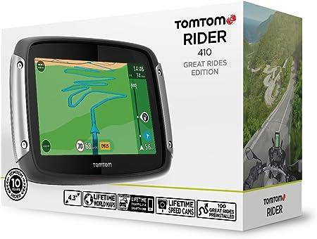 Tomtom Rider 410 Navigator Gps Schwarz Navigation