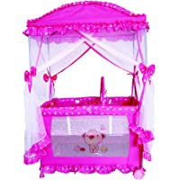 Cradle for Children with Mosquito Net by Babylove, Pink, 27-930M3