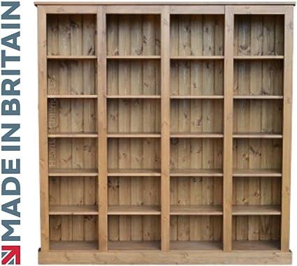 Heartland Pine Pino Macizo librería, 182,88 cm de Altura x 6 ...