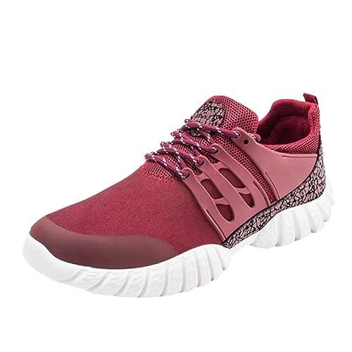 Beladla Mujer Adelgazar Zapatos Sneakers para Caminar Zapatillas Aptitud  CuñA Plataforma Zapatos Zapatos De Senderismo  Amazon.es  Ropa y accesorios 7aea77c000dc