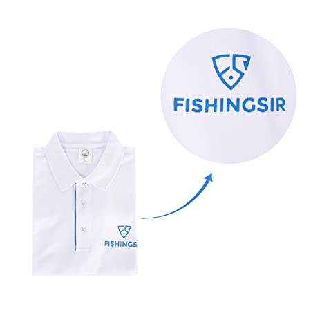 FISHINGSIR - Polo - para hombre blanco blanco XL: Amazon.es: Ropa ...