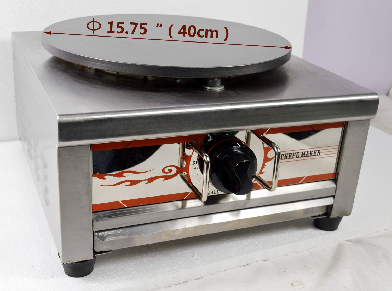Intbuying Natural Gas Single Crepe Maker and Pancake Machine #134031 by INTBUYING (Image #1)