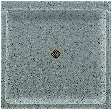 Swanstone Ss 3232 124 Solid Surface Center Drain Shower Base 32