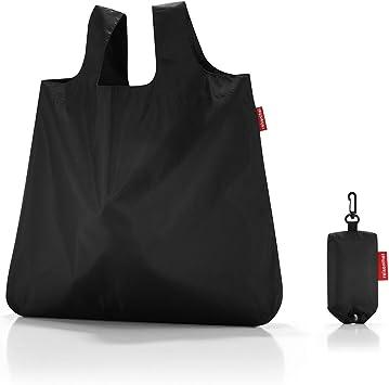reisenthel mini maxi shopper black Maße: 45 x 53,5 x 7 cm Volumen: 15 l waschbar bei 30 °C