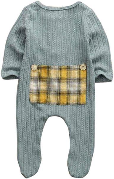 Li Kerer0-9M Ropa de bebé recién Nacido bebé niño niña algodón ...