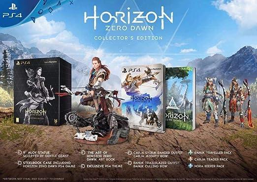 Sony Horizon Zero Dawn, Collectors Edition, PS4 Coleccionistas ...