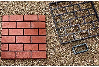 Path Makers Mold Garden Plastic Manually Paving Cement Brick Mould Pavement DIY