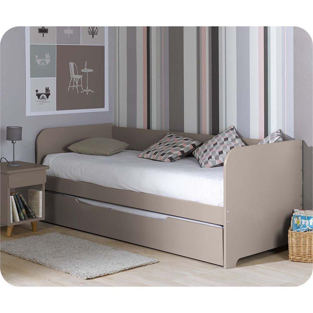 Kinderbett Pacôme weiß 90x200cm