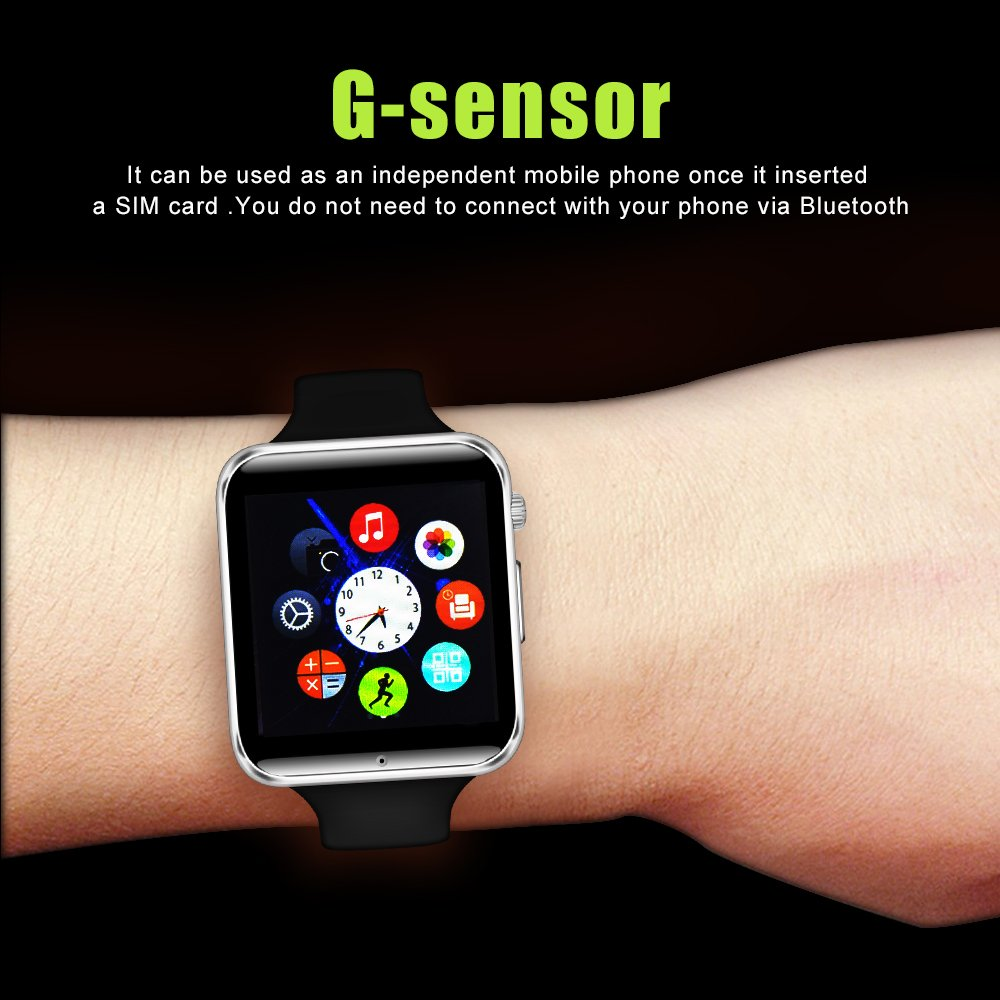 YUNTAB Smartwatch K10, Pantalla 1.54