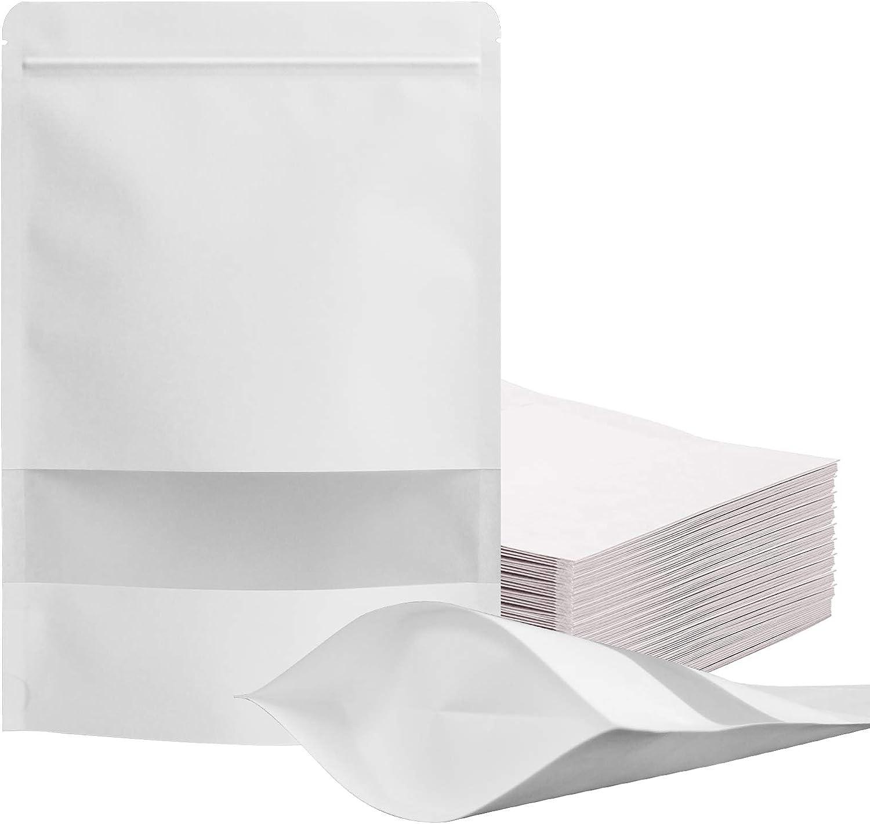 100 Pcs Resealable bags,3.5