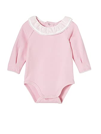 670824f0d VERTBAUDET Bodies Pack of 2 Baby Birth Peter Pan Collar  Amazon.co ...