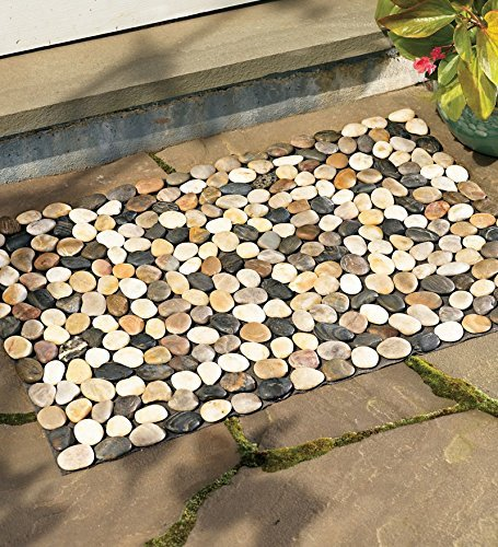 Wind Weather WL6000 River Rock Decorative Floor Mat