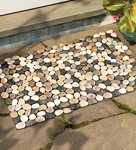 Wind & Weather WL6000 River Rock Decorative Floor Mat