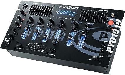 PylePro PYD1919 - Mesa de mezcla (4 canales): Amazon.es ...