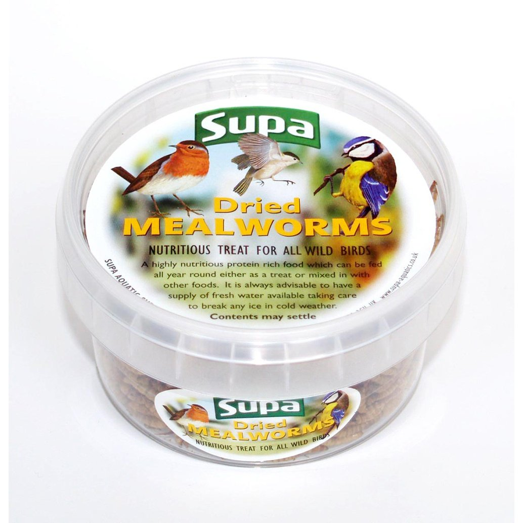 225ml tub of dried mealworms Supa 820