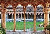 OFILA Arch Building Backdrop 7