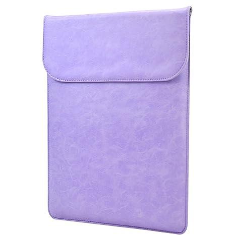 jukkarri PU piel 11 – 13 pulgadas Laptop funda maletín elegante plástico para ordenador portátil,