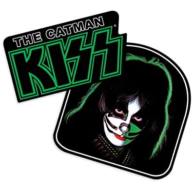 Popfunk KISS Peter Criss Catman Collectible Stickers: Home & Kitchen