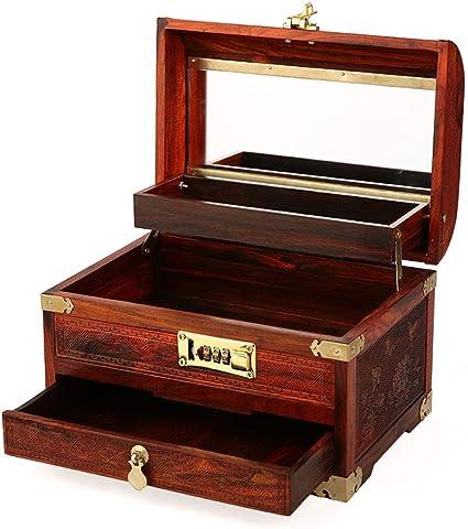 WOODEN FISH BOX Dresser  Jewelry Trinket Box
