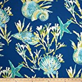 nautical outdoor fabric - Richloom Solarium Outdoor Daytrip Pacific Fabric By The Yard