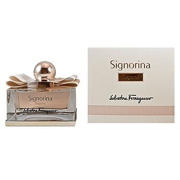 34aeaf959963c8 Amazon.com   Salvatore Ferragamo Signorina Eleganza Eau de Parfum Spray for  Women