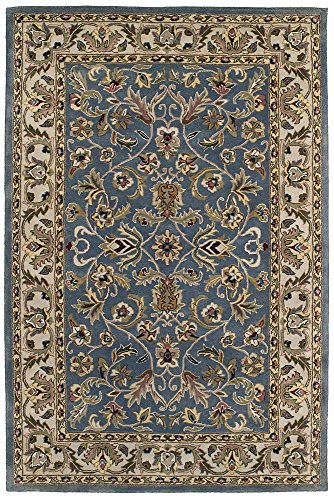 Williamsburg Blue Rug (Kaleen Rugs Mystic Collection 6001-17 Blue Hand Tufted 2' x 3' Rug )