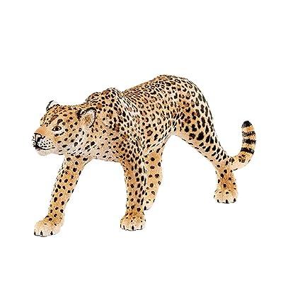 Schleich Wild Life Leopard Educational Figurine for Kids Ages 3-8: Schleich: Toys & Games