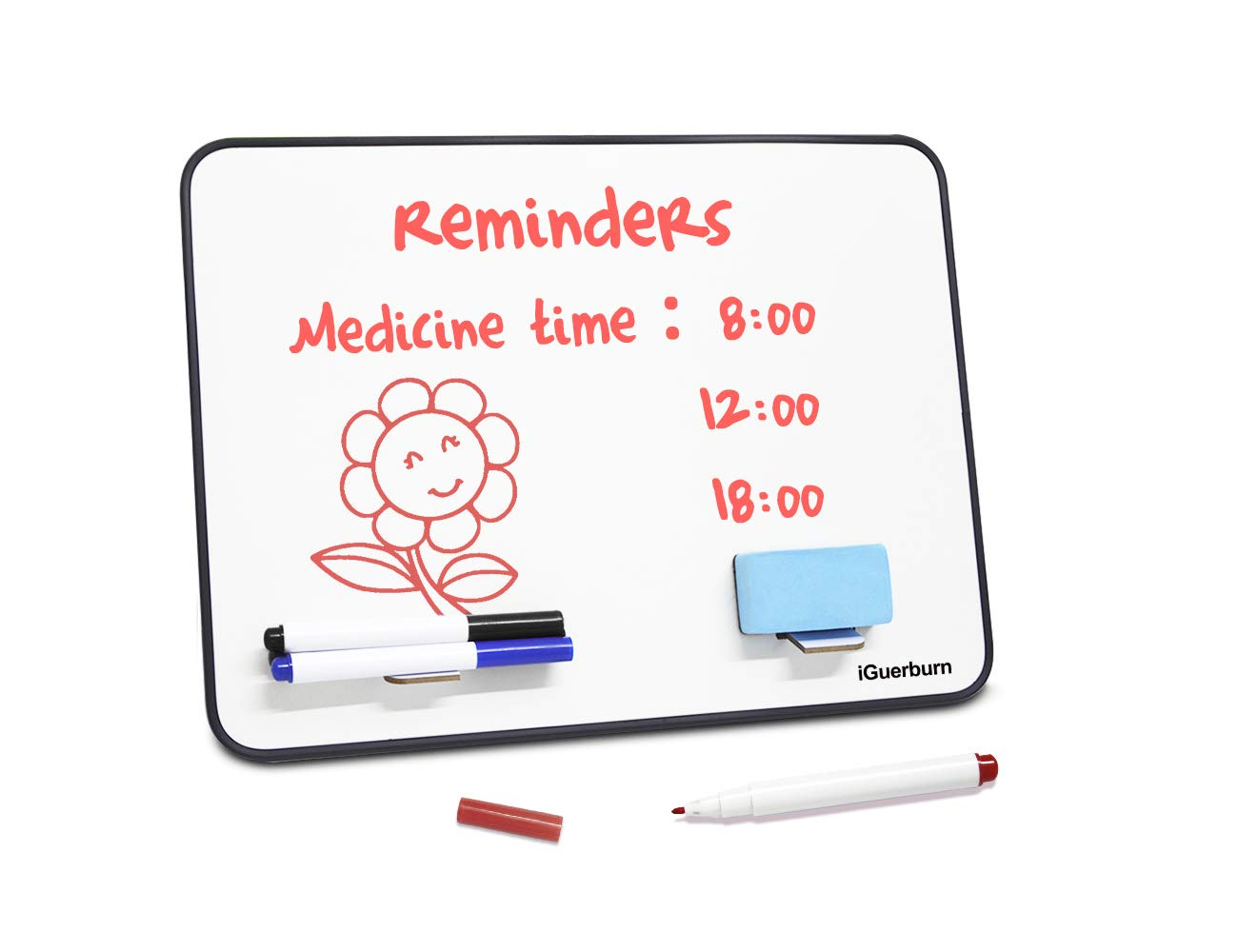 iGuerburn Dementia Alzheimer's Memory Loss Seniors Elderly Gifts Reminder Note Board 14x10