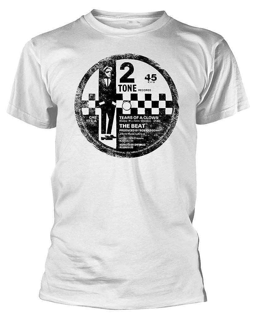T-Shirt White The Beat 2 Tone Label