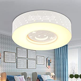 JJ moderna lámpara de techo LED lámpara de techo habitación ...
