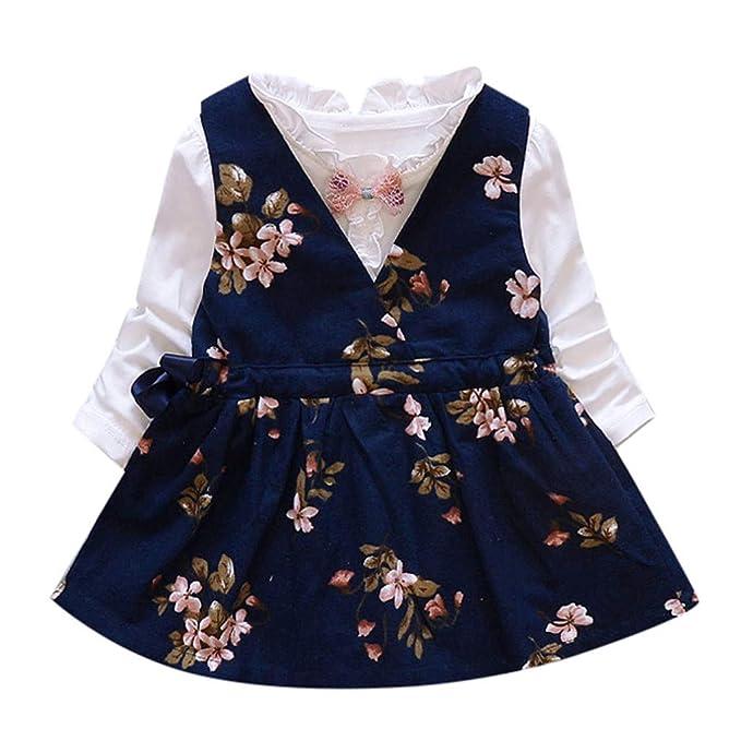 Amazon.com: Jchen(TM) - Vestido de princesa para niñas con ...