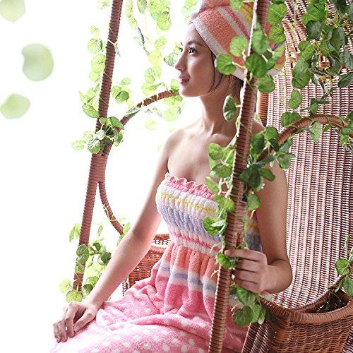 GHKLGY - Set di asciugamani in velluto di corallo 49275fbd4906