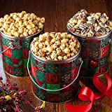 Holiday Nutty Caramel Popcorn Pail
