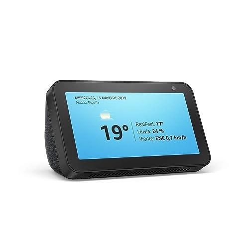 Presentamos el Echo Show 5 una pantalla inteligente y compacta con Alexa negro