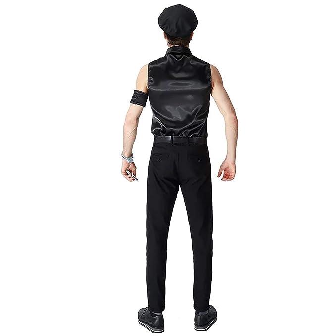 Traje de policía SWAT Uniforme - Conjunto Disfraces para Damas y ...