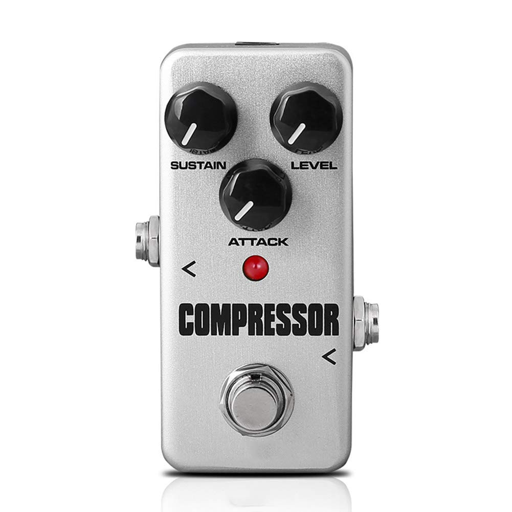 tesyyke Guitar Pedal Effect Processor Accessories Portable for Musical Instruments Bass