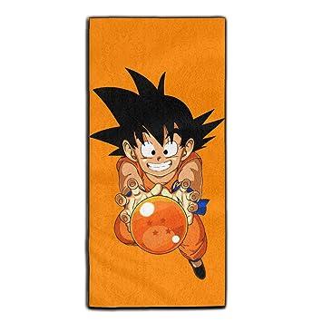 yaieia Dragon Ball Z Son Goku poliéster terciopelo toallas de mano de baño: Amazon.es: Hogar