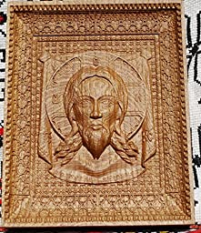 Veil of Veronica Durable unique christian gift Wood Carved religious wall decor FREE ENGRAVING FREE SHIPPING
