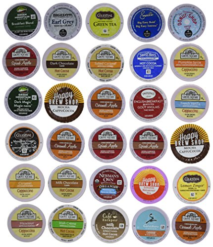 Cappuccino Variety Pack Single Serve Keurig Compatible
