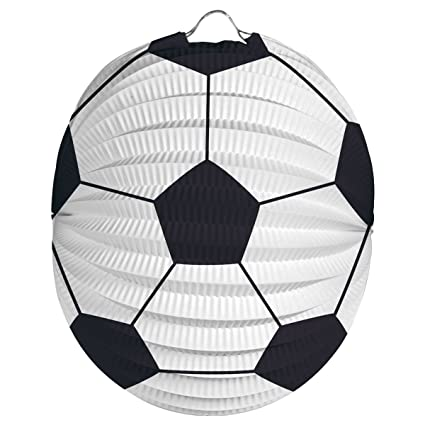 Cama24com Fussball Laterne Fussballparty Lampion Laternenumzug