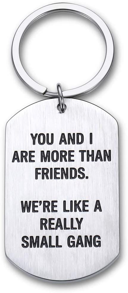 Funny Friendship Keychain Gifts for Best Good Friends Birthday Valentine Gifts for BFF Bestie Women Men Coworker Girlfriends Teenage Girls Boys Appreciation Sisters Him Her Key Ring Jewelry