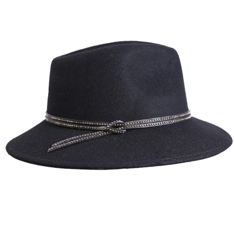 Easy Go Shopping Sombrero Otoño Invierno Hat Moda Top Hat Invierno Llano Ajustable Jazz Cap Pareja Tendencia (Size : M) fd0fdc