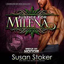 Justice for Milena Audiobook by Susan Stoker Narrated by Erin Mallon
